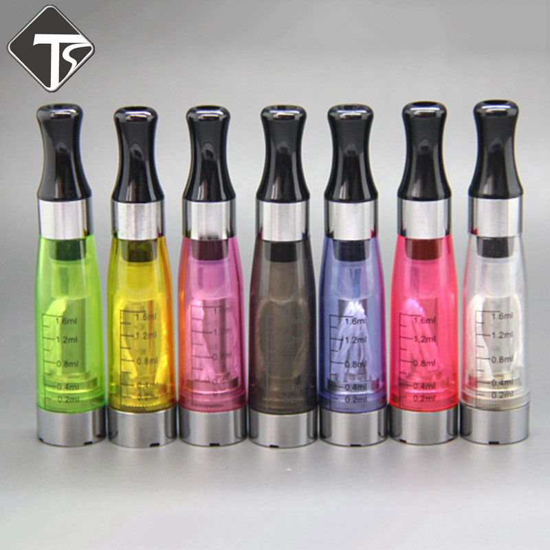 CE4 Atomizer CE4 Ecigarette Clearomizer 1.6ml For EGo-T/K/W EVOD Series Battery 510 Thread 8 Colors Free Shipping