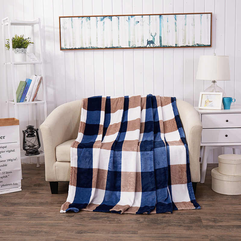 Brand плед soft blanket large plaid bedspreads fleece blanket adult cover on the bed plaid sofa cover blanket