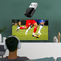 Mini USB Bluetooth 3D Wireless Audio Transmitter Adapter For   TV   Laptop Headset Dongle Dual Mode Music Sound   Receiver   Converter