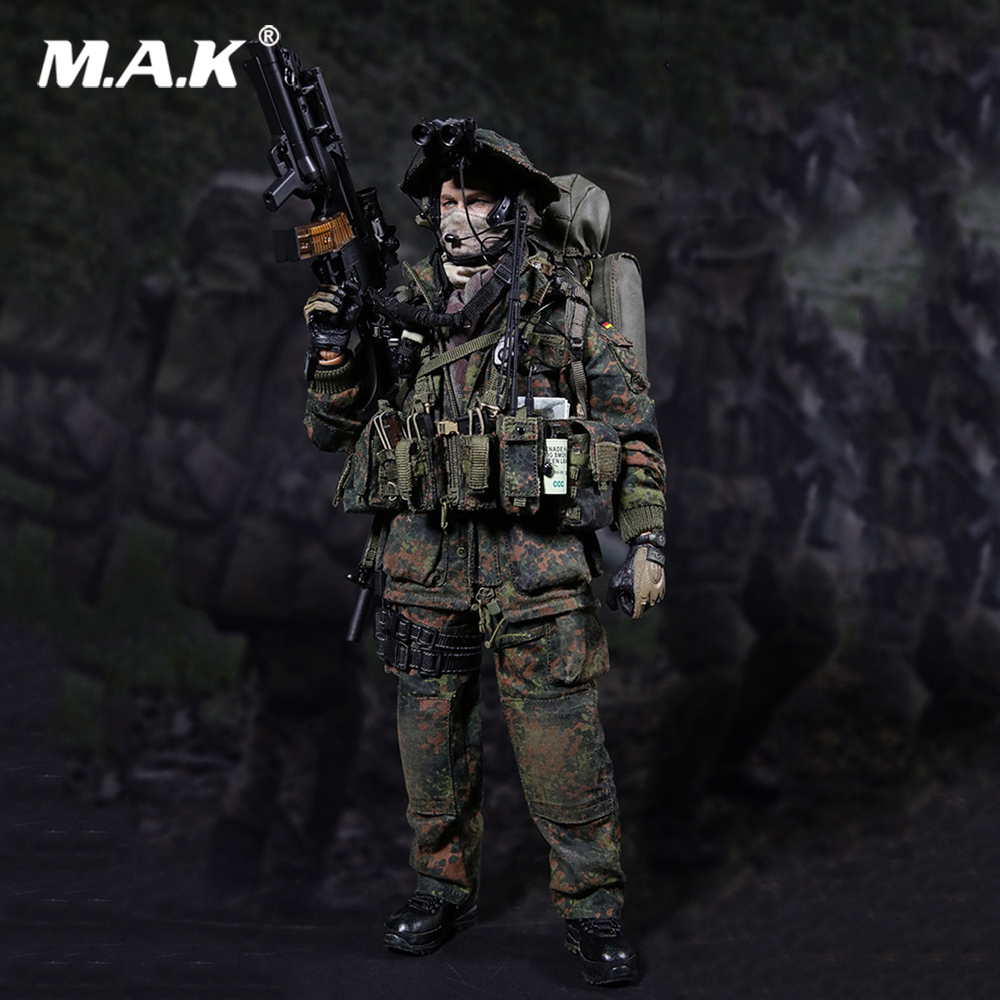 For Collection 78004 1/6 Scale KSK ( KOMMANDO SPEZIALKRAFTE ) LRRP(FERNSPAHER) Action Figure Collection Model Toys Full Set 1 6 scale chinese 007 agent from beijing with love movable action full set figure model toys for collection