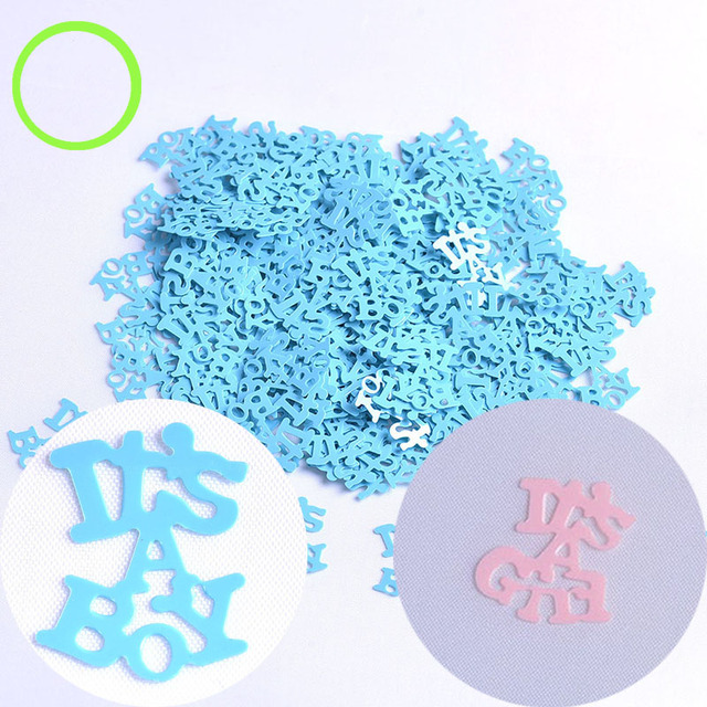 It S A Girl Boy 15g Pack Baby Shower Baptism Kids Birthday Party Table Decor Scatter Confettis Decoration For Dropshipping