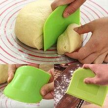 1 шт. горячая Распродажа крем гладкая лопатка для приготовления торта инструменты для выпечки теста скребок кухонный нож для масла резак
