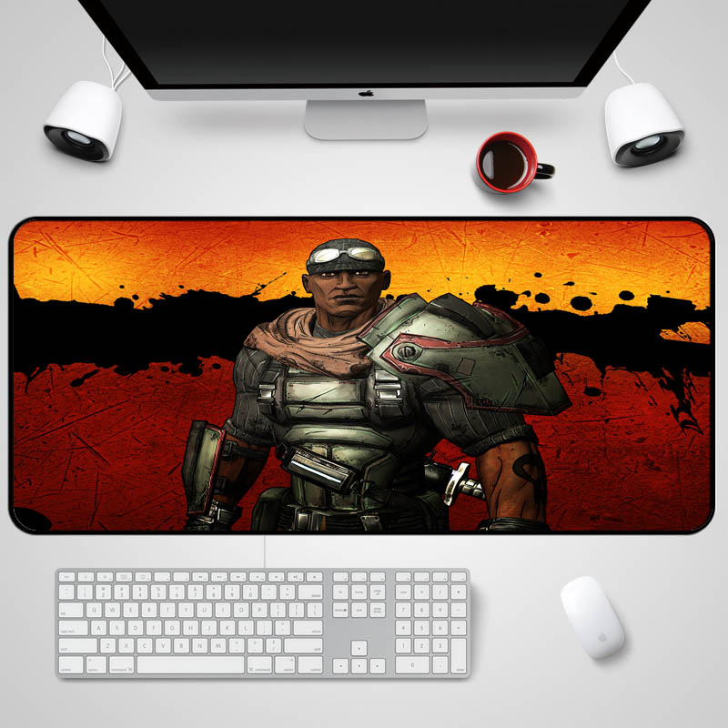 Mairuige 400x900x2MM or More Size To Choice Borderlands Series Gaming Mouse Pad Table Mat for Fps Game Player Computer Mousepad