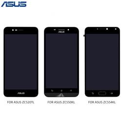 ASUS Zenfone ZC520TL ZC550KL ZC554KL LCD Display Touch Screen Digitizer Con Telaio di Montaggio del Pannello