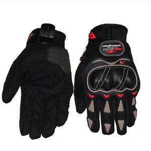 Image 3 - Skórzane rękawiczki rękawice motocyklowe motocykl motocross jazda na rowerze oddychające mężczyźni kobiety pełne palec dotykowy rękawice do ekranu