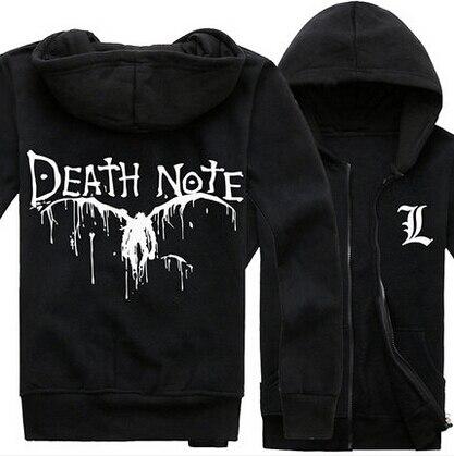 Death note hoodies