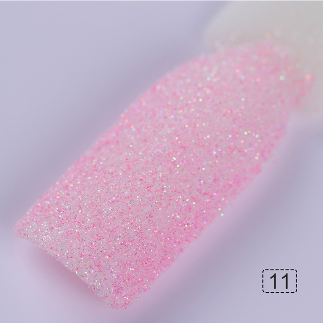 3 Boxes Holographic Sugar Nail Glitter Sandy Powder Candy Nail Color Dust Manicure Pigment Nail Art Glitter Decoration