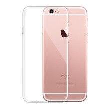 Чехол для телефона s для iPhone 5, 5S, SE, 6, 6 s, 7, 8 X, чехол, мягкий прозрачный силиконовый чехол, задняя крышка для iPhone 6, 6 s, 7, 8 Plus, чехол