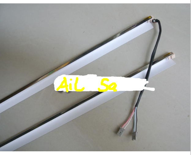 4PCS 20.1'' Inch Wide Dual 4 Lamps CCFL With Frame,LCD Backlight With Housing,445mm CCFL With Cover FRAME 450mm X7mm