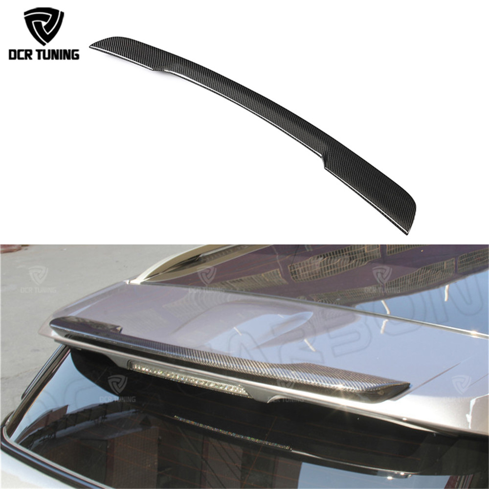 Car Spoiler For Land Rover Range Rover Evoque 2012 2013 2014 2015 Carbon Fiber Spoiler for Evoque carbon wings car styling cardimanson for land rover range rover evoque 2012 foot rest pedal pad cover accessories car styling