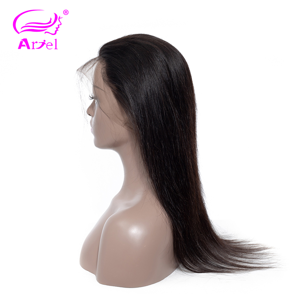 Ariel Closure Hair Lace-Frontal Pre-Plucked Straight Non-Remy Malaysia Natural-Color