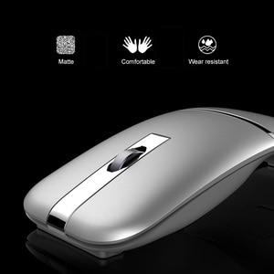Image 3 - 2.4G Usb Draadloze + Bluetooth Folding Muis Oplaadbare Ergonomisch Gaming Mouse Voor Macbook Lenovo Asus Dell Hp Computer Muis