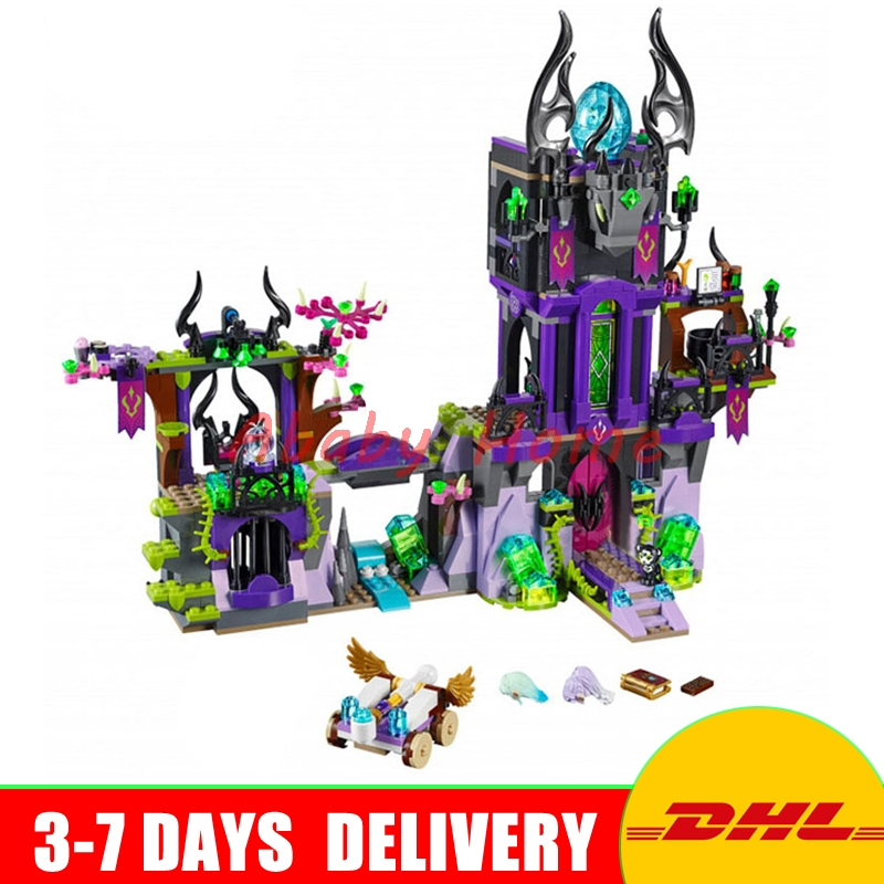DHL Bela 10551 Ragana's Magic Castle Educational Building Blocks Bricks Model  DIY Toys Gifts compatible Lepin 10551 elves ragana s magic shadow castle building blocks bricks toys for children toys compatible with lego gift kid set girls