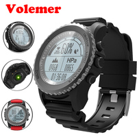 Volemer S968 Outdoor Sport GPS Smart Watch Swim Climbing Wristwatch IP68 Waterproof Heart Rate Barometer Thermometer