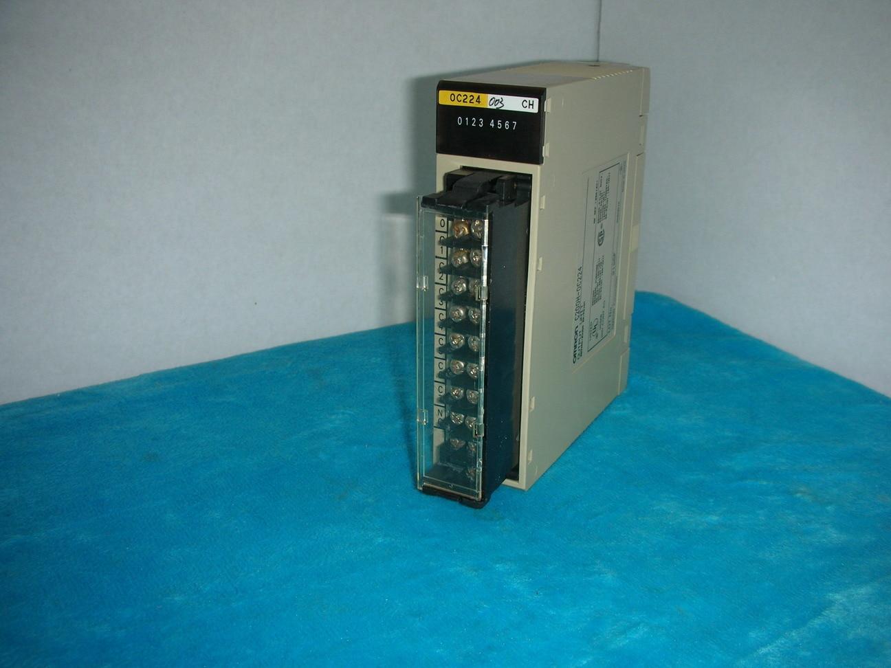 OMRON OMRON C200H-OC224 1pc used omron c200h cn311 plc