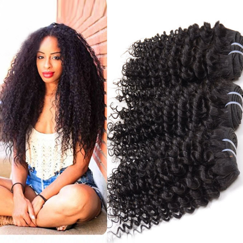 Queen Love Peruvian Curly Deep Wave 3pcslot Hair Extension Mixed