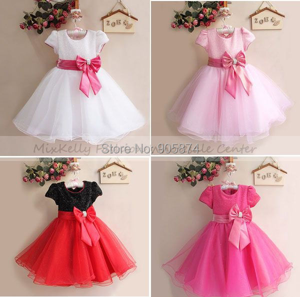 hot sale! 2014 Christmas girl dress, girls princess tutu lace dress,baby wedding dress birthday party dresses 3-4year - MixKelly Children Clothes Center store