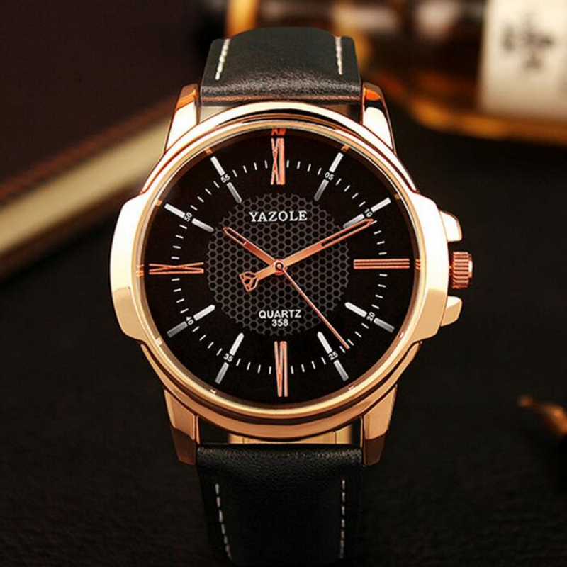 купить YAZOLE Top Brand Luxury Wrist Watch Men Watch Waterproof Men's Watch Fashion Watches erkek saat reloj hombre relogio masculino по цене 1988.93 рублей