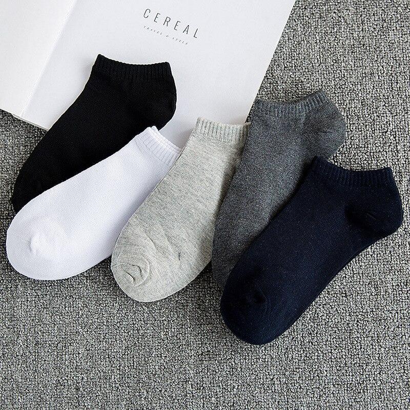 Men's socks fashion socks men's thin section propulsion socks low state shallow mouth stealth cotton boat socks W01