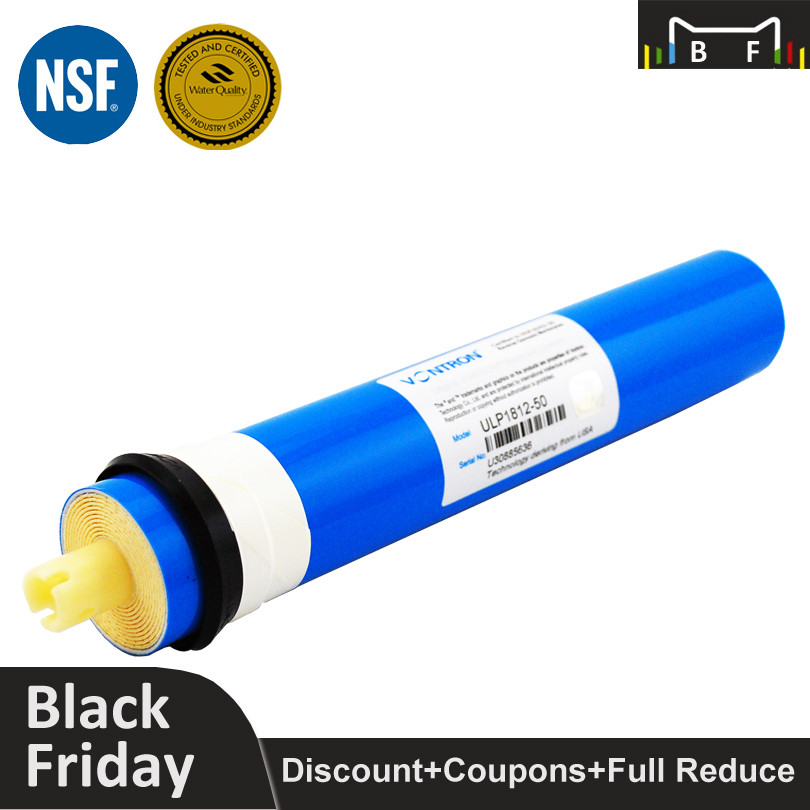 Coronwater Vontron 50 gpd RO Membrane ULP1812-50 Reverse Osmosis Membrane for Water Filter