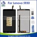 Для Lenovo S930 Оригинальный ЖК-Дисплей С Сенсорным Экраном Дигитайзер Ассамблеи Repalcement Запчасти + Инструменты
