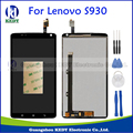 For Lenovo S930 Original LCD Display Touch Screen Digitizer Assembly Repalcement Parts +Tools