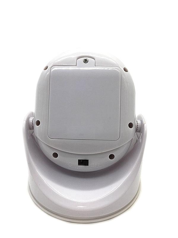 LED Light Swivels 360-Degrees Light Cordless Motion Activated Pivots Shining