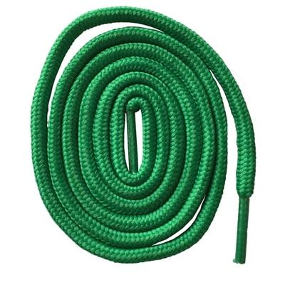 200 см очень длинные круглые шнурки Шнуры Веревки для ботинок martin спортивная обувь - Цвет: 19 green
