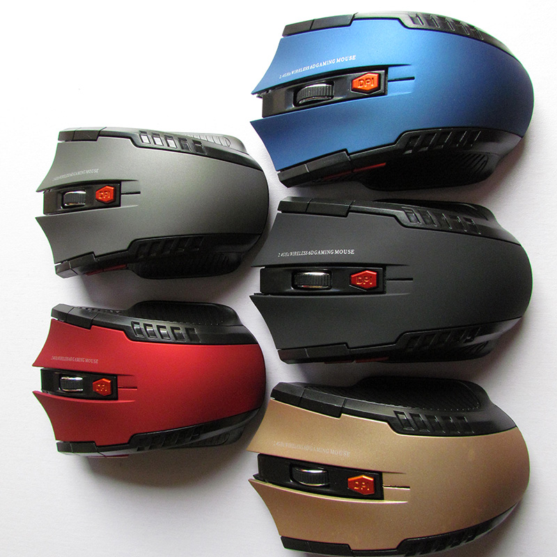 2.4GHz Wireless Optical Mouse Gamer New Game Wireless Mice with USB Receiver Mause for PC Gaming Laptops 5