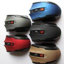 Ratón óptico inalámbrico de 2,4 GHz nuevo juego de ratones inalámbricos con receptor USB Mause para ordenadores portátiles PC Gaming