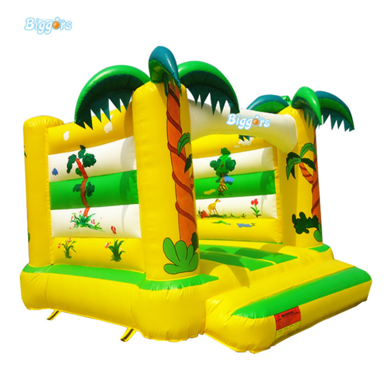 Commercial Grade Inflatable Bouncy House For Games 6 4 4m bounce house combo pool and slide used commercial bounce houses for sale