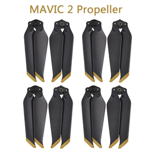 Image 1 - 4 Pairs MAVIC 2 PRO/ ZOOM 8743F Low Noise Quick Release Propeller Blades for DJI MAVIC 2 PRO /ZOOM Drone Accessories