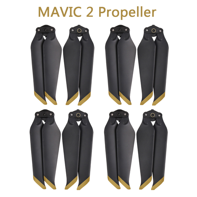 4 Pairs MAVIC 2 PRO/ ZOOM 8743F Low Noise Quick Release Propeller Blades for DJI MAVIC 2 PRO /ZOOM Drone Accessories