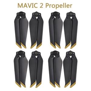 Image 1 - 4 쌍 mavic 2 pro/zoom 8743f dji mavic 2 pro/zoom drone 액세서리 용 저소음 퀵 릴리스 프로펠러 블레이드