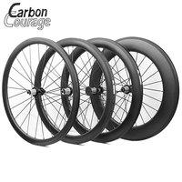 The Most Durable 700C Full Carbon Fiber Wheelset 38mm 50mm 60mm 88mm Clincher Tubular Carbon Wheels