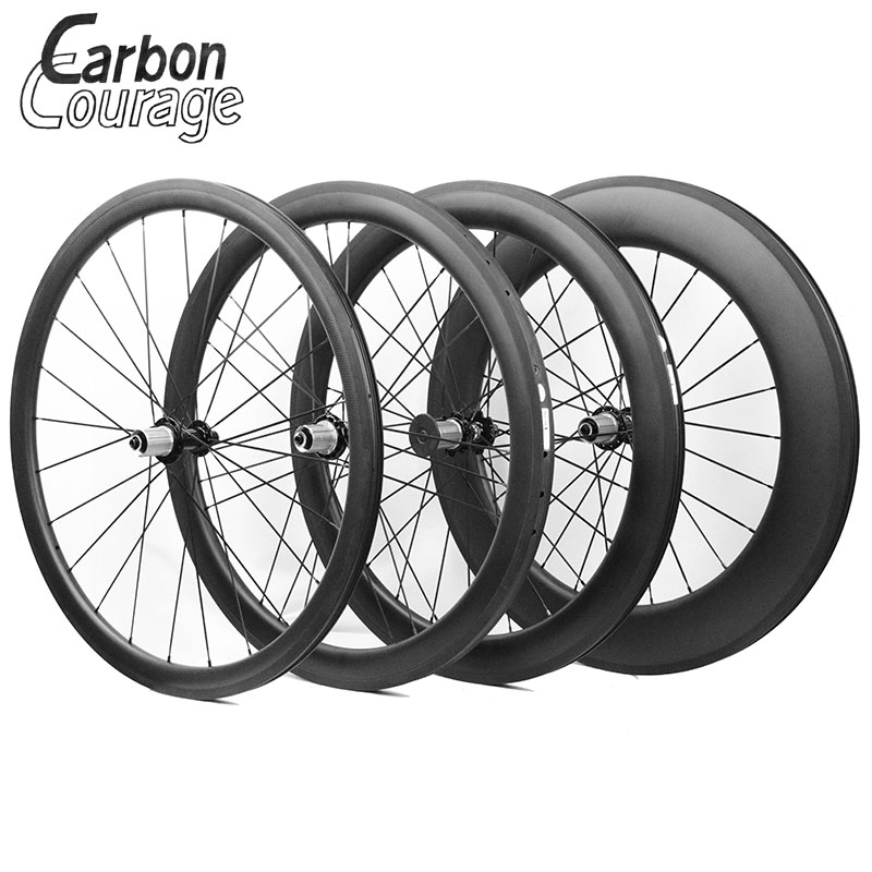 The Most Durable 700C Full Carbon Fiber Wheelset 38mm/50mm/60mm/88mm  Clincher/Tubular Carbon Wheels/Rims  Carbon Road Bike Part carbon wheels 700c 88mm depth 25mm bicycle bike rims 3k ud glossy matte road bicycles rims customize carbon rims