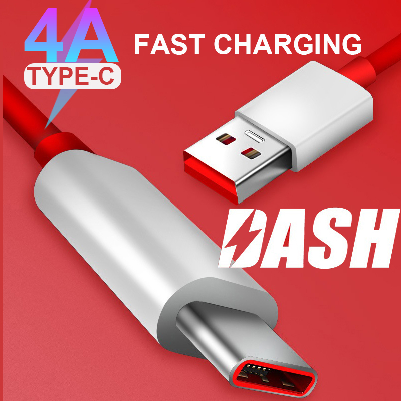 4A Fast charge OnePlus 7 Pro Dash Cable <font><b>USB</b></font> 3.1 Type C Quick Fast Charger Cable 1m 1.5m 2m For One Plus <font><b>6</b></font> 5T <font><b>5</b></font> 3T 3 Mobile Phone image