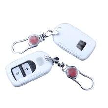 1 UNIDS llave de Plástico bolsa titular caso de la cubierta fob para HONDA CÍVICA 2012-2015/para HR-V VEZEL 14-16 Smart Protector Remoto llavero