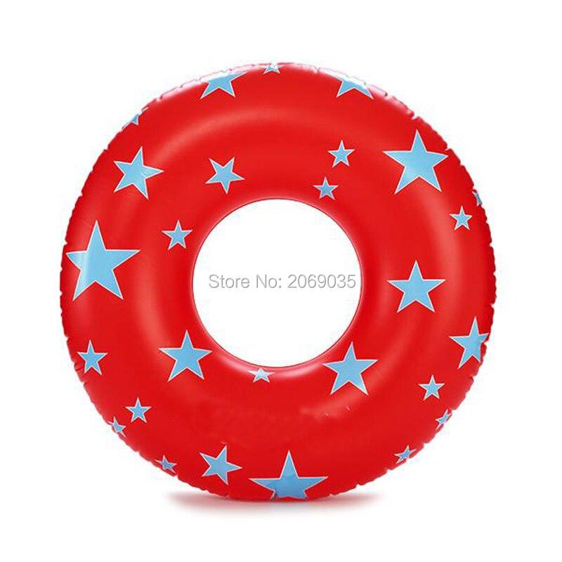 Starry Eyed Red Giant плавание кольцо для Для женщин и Для мужчин тропическим принтом надувной бассейн плавать водные игрушки матрац Lounger шкафа