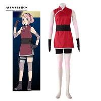 THE LAST NARUTO THE MOVIE Haruno Sakura Cosplay Costume