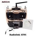 Radiolink AT9S с R9DS AT9 Модернизированный 2.4 Г 10CH Пульт Дистанционного Управления Радио Система для камеры drone rc quadcopter