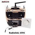 Radiolink AT9S with R9DS AT9 Upgraded 2.4G 10CH Transmitter Remote Control Radio System for camera drone rc quadcopter