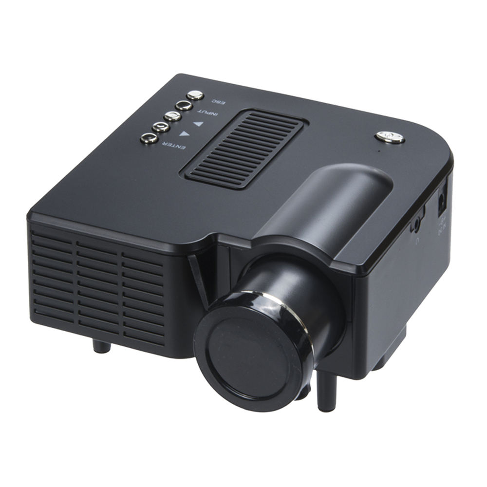 High Quality Digital Excelvan UC28 Portable Mini Projector Multimedia Cinema Theater Digital LED Projector  Home Business