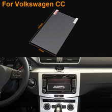 Car Styling 6.5 Inch GPS Navigation Screen Steel Protective Film For Volkswagen CC Control of LCD Screen Car Sticker