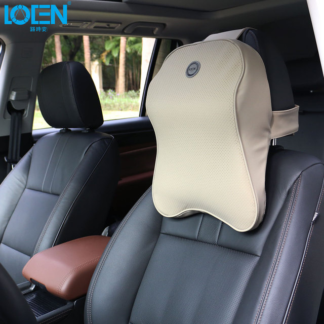 1PCS Memory Foam Car Neck Pillow Travel Head Rest Auto Seat Headrest Pillows Support Cushion PU