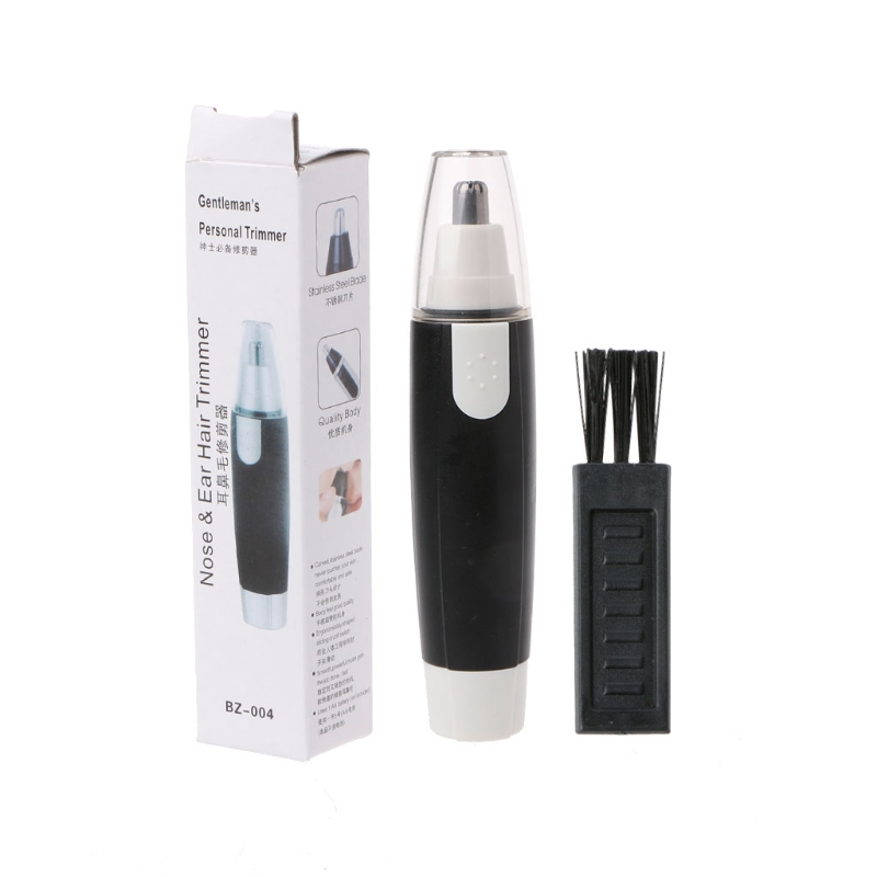 New Nose Ear Trimmer Electric Face Hair Removal Shaver Clipper Cleaning Groome Tool