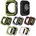 Силиконовый бампер для Apple Watch 5  чехол 44 мм 40 мм iWatch  чехол 42 мм/38 мм  мягкая защитная крышка для Apple watch 4 3 2 1  аксессуары 44