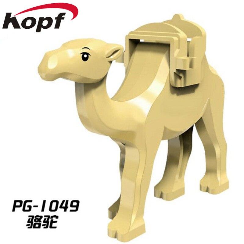 Super Heroes jungle Adventure верблюд с седло Принц Персии Джаббы злобы смог Акула здания Конструкторы детей Игрушечные лошадки pg1049