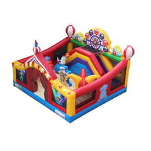 inflatable trampoline bouncer,inflatable jumping castle YLW-TC43