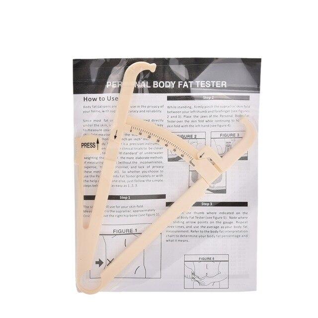 Personal body slim fat tester caliper analyzer skin fold measurement fitness Nw